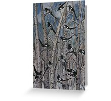 One for sorrow.... Greeting Card