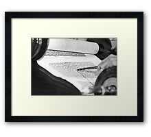 Reading the Torah scrolls  Framed Print