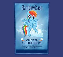 Rainbowdash  Spiced Rum Womens Fitted T-Shirt