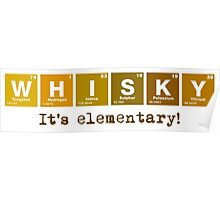 Whisky - It's Elementary! Poster