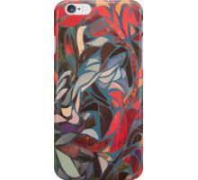 red fountain iPhone Case/Skin