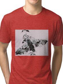 Dead Head Moth Tri-blend T-Shirt