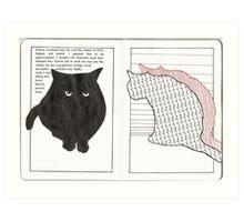 Kalvin & Lucy Art Print
