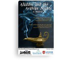 Aladdin and the Arabian Nights Metal Print