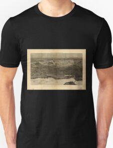 Panoramic Maps Saratoga Springs and vicinity scene of the inter-collegiate regatta see page 626 T-Shirt
