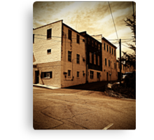 Corner in Mars Hill Canvas Print