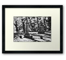 The Tombstones IV Framed Print