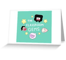 The Classroom Gems! // Steven Universe Crystal Gems Chibi Greeting Card