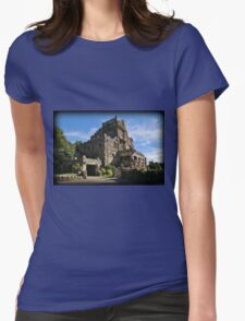Gillette Castle Afternoon Womens Fitted T-Shirt
