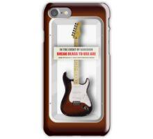 Axe 2 No Whammy iPhone Case/Skin