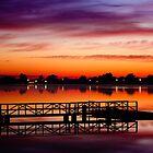 Sunrise - Lake Albert, Wagga Wagga by naemick
