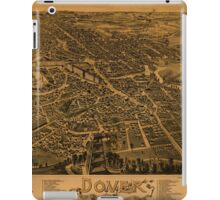 Panoramic Maps Dover Stafford County New Hampshire 1888 iPad Case/Skin