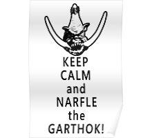 Narfle the Garthok! Poster