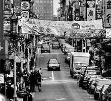 Black and White Photography - Chinatown by Fojo