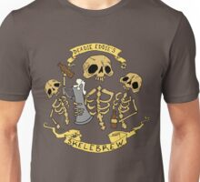 Spooky Fun Beer Label Unisex T-Shirt