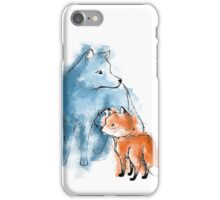A chance meeting iPhone Case/Skin