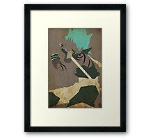 Blackstar Framed Print
