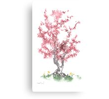 Little Zen Tree 562 Canvas Print