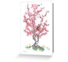 Little Zen Tree 562 Greeting Card