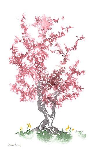 Little Zen Tree 562 by Sean Seal
