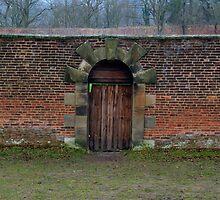 Gibside Door by Chris Vincent