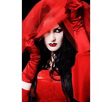 Portrait of Lydia (Gothic Girls) Photographic Print