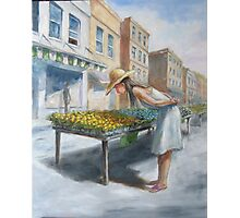 Flower Shopper Photographic Print