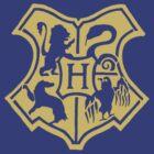 Hogwarts Crest by xceedingarc