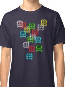 Multi Colour Campervan Classic T-Shirt