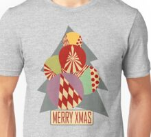 Christmas minimalist (gray) Unisex T-Shirt