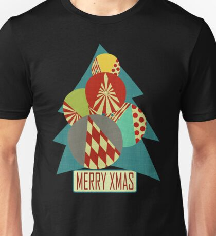 Christmas Minimalist (blue) Unisex T-Shirt