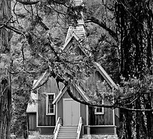 Yosemite House of God by Harv Churchill