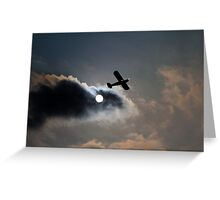 Piper PA-18 Super Cub  Greeting Card