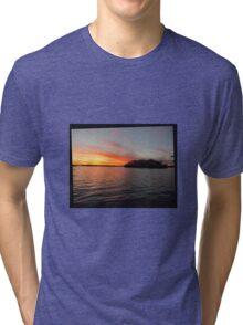 Rocket Powered Island Tri-blend T-Shirt