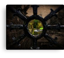 The Water of Leith, Edinburgh, Scotland Canvas Print