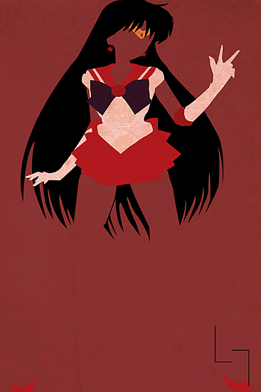 Sailor Mars by jehuty23