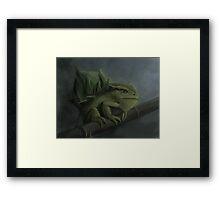 Bulbasaur- Pokemon Concept Digital Painting Framed Print