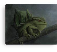 Bulbasaur- Pokemon Concept Digital Painting Canvas Print