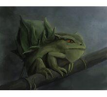 Bulbasaur- Pokemon Concept Digital Painting Photographic Print