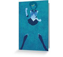 Sailor Mercury Greeting Card