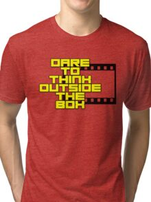 Dare to Think Outside the Box Tri-blend T-Shirt