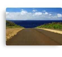 The Road To Maui Canvas Print