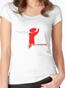 Long Live the Fighters Women's Fitted Scoop T-Shirt