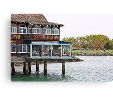 Restaurant on Stilts Canvas Print