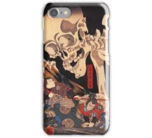 Japanese Print:  Skeleton Monster iPhone Case/Skin