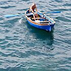 rowing the blue boat by Anne Scantlebury