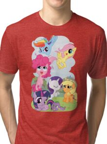 Filly Mane 6 Tri-blend T-Shirt