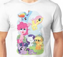 Filly Mane 6 Unisex T-Shirt