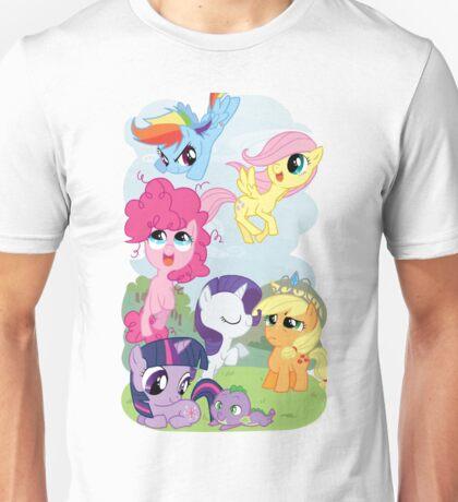 Filly Mane 6 Unisex T-Shirt