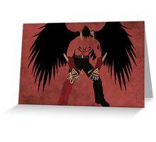 Devil Jin Greeting Card